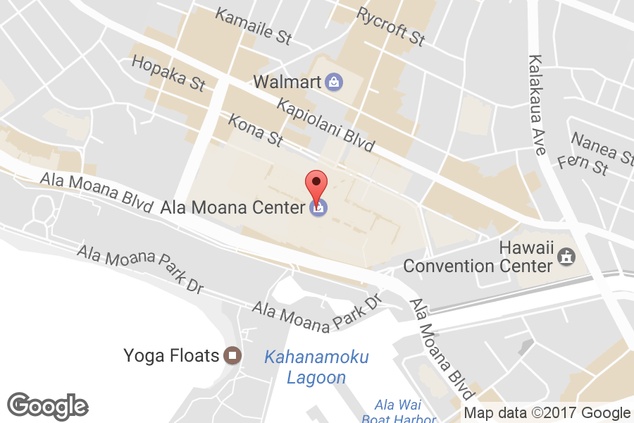 Map of Ala Moana Center - Click to view in Google Maps