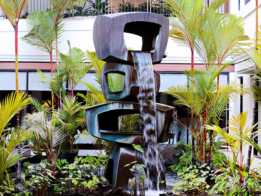 Waiola artwork by George Tsutakawa